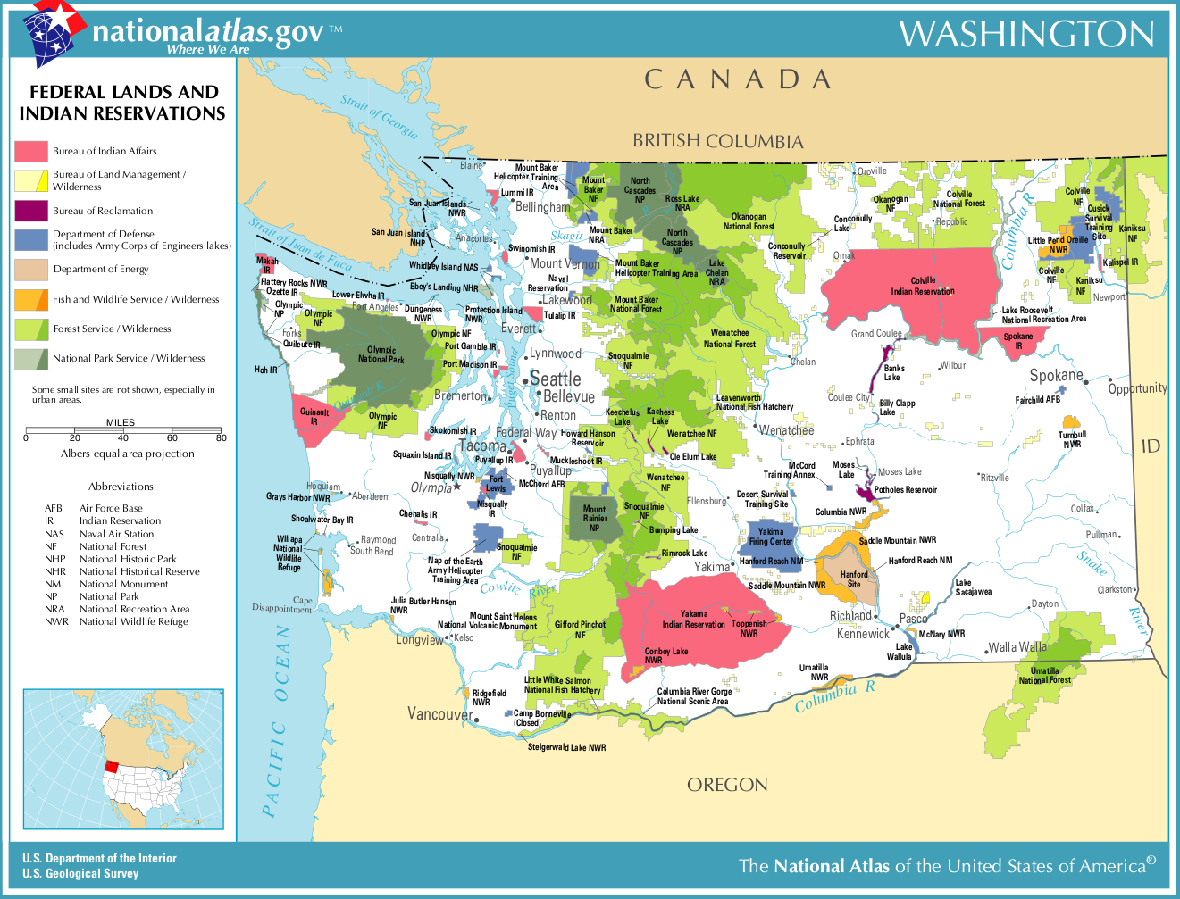 the history of federalism in the united states